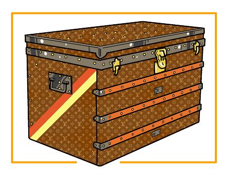 vignette bagagerie de luxe et accessoires