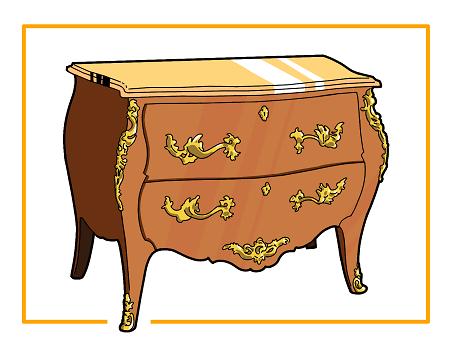 vignette mobilier européen du XVIIeme au XXeme
